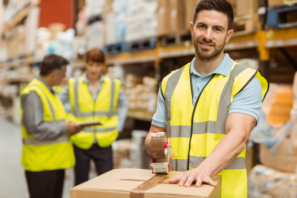 Socks Warehouse Worker with BSN
