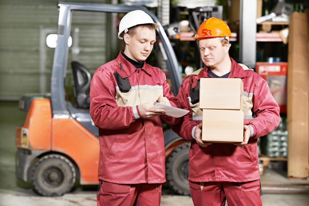 EPT  driver and warehouse worker