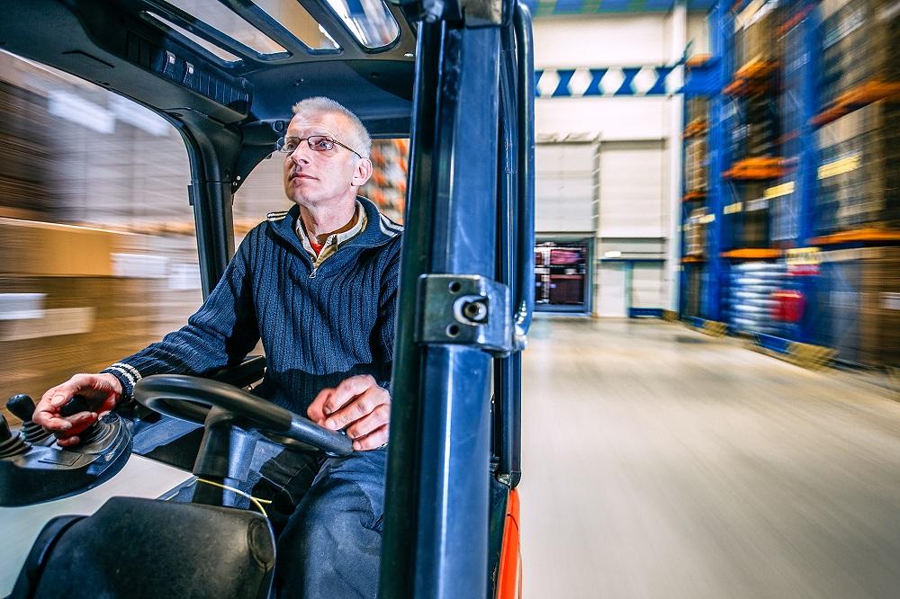 Reach truck driver (clean criminal record)