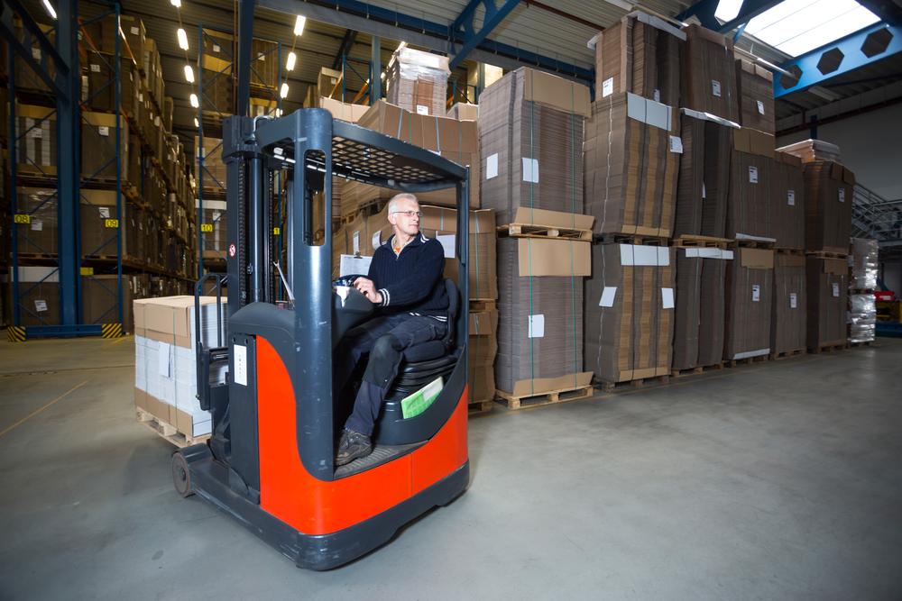Reach truck driver (Dutch certifiate)