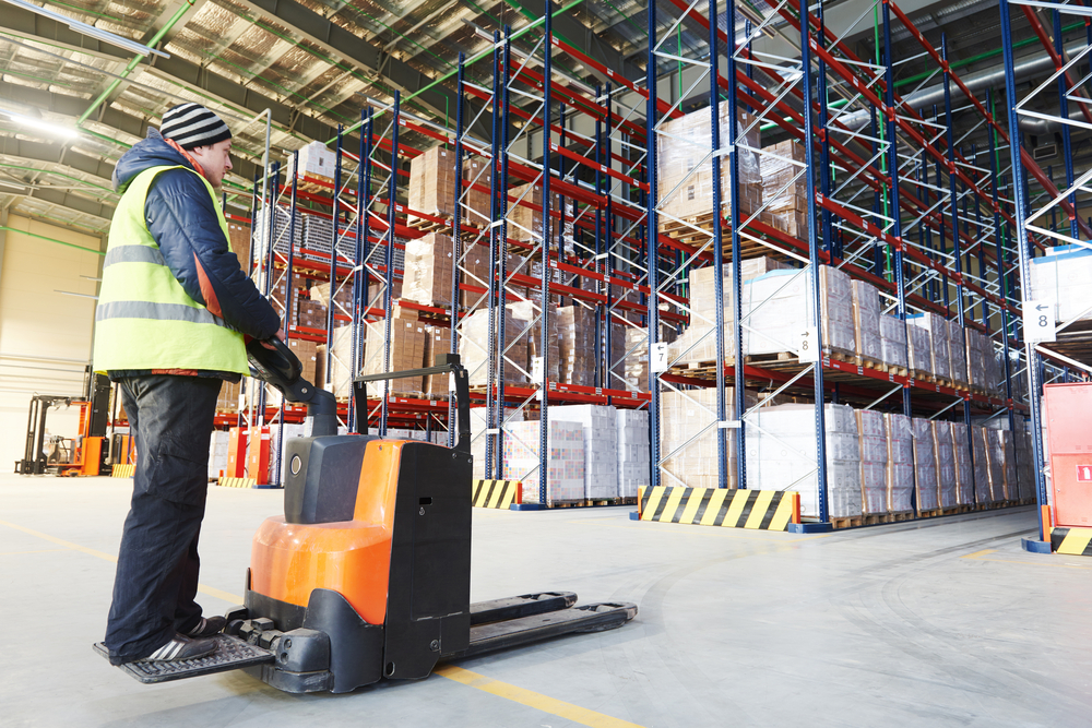 Reach truck driver (meat factory)