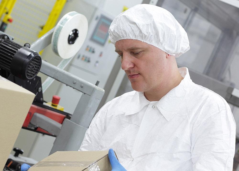 Production employee (shrimp)