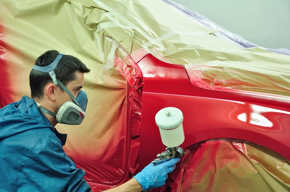 Spray painter (BMW)