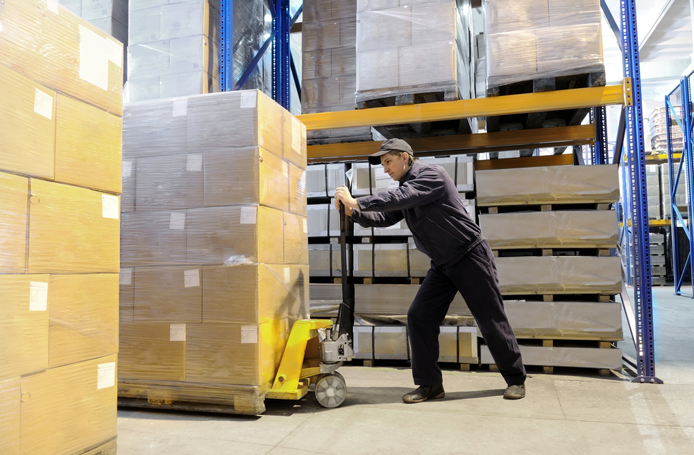 Mail warehouse worker