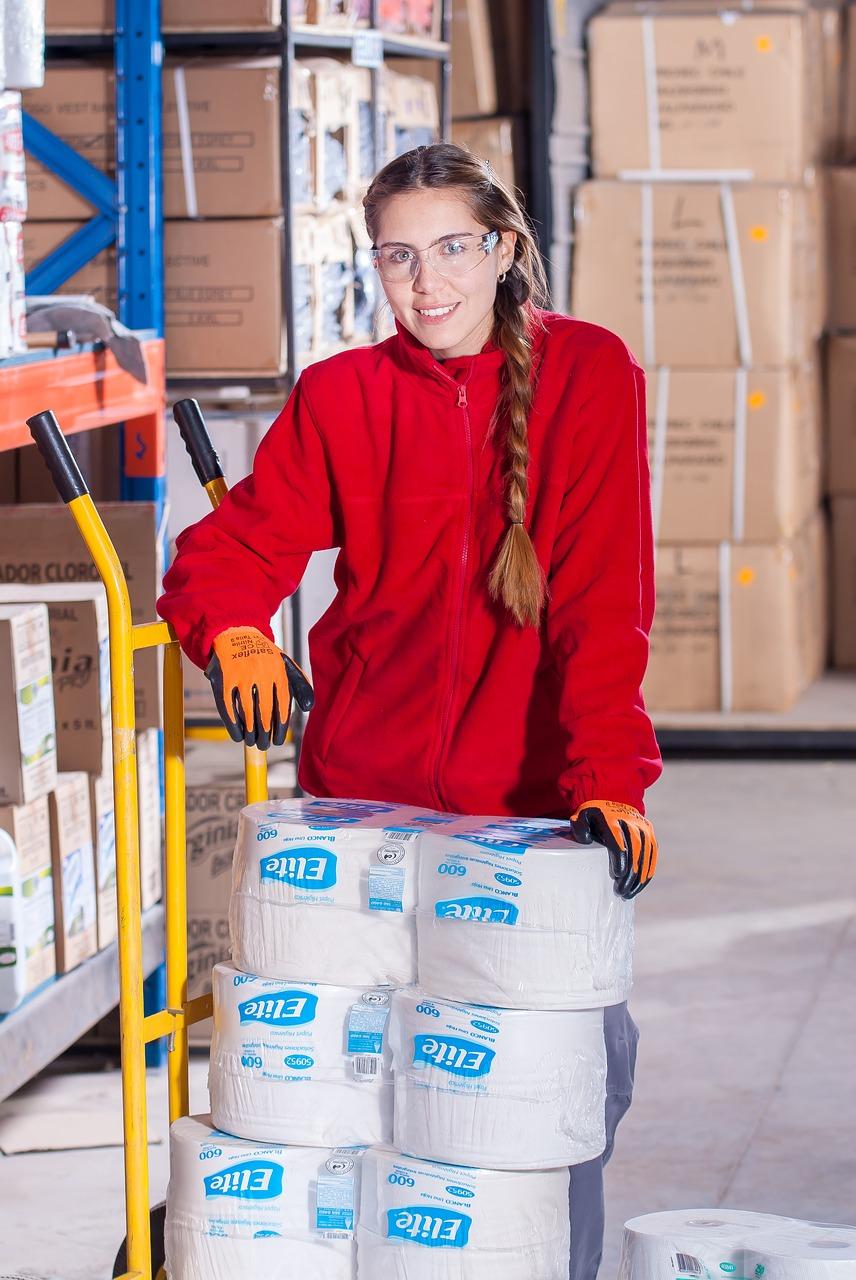 Warehouse worker (4 week project)