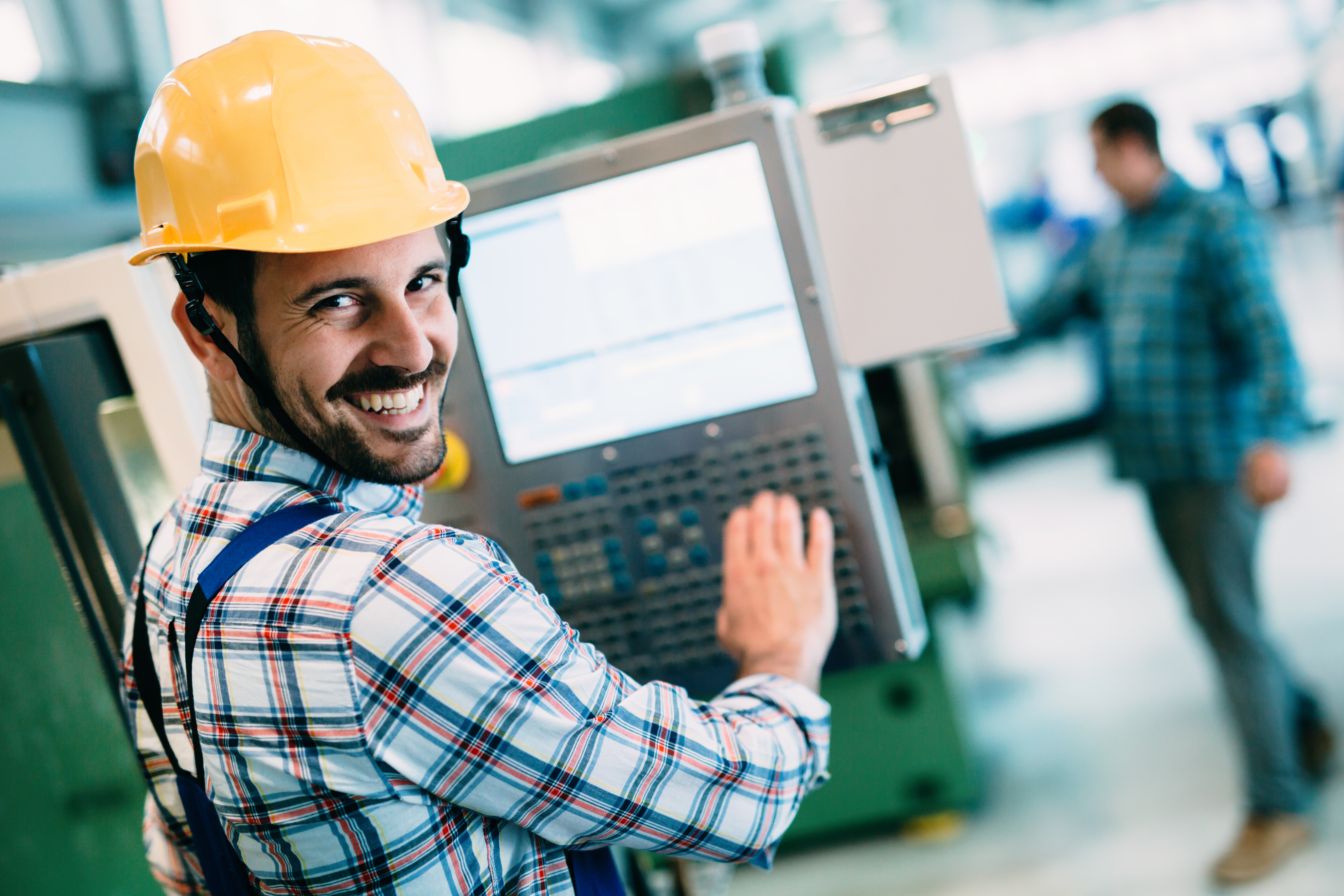 CNC operator and programmer (€500 net/weekly)