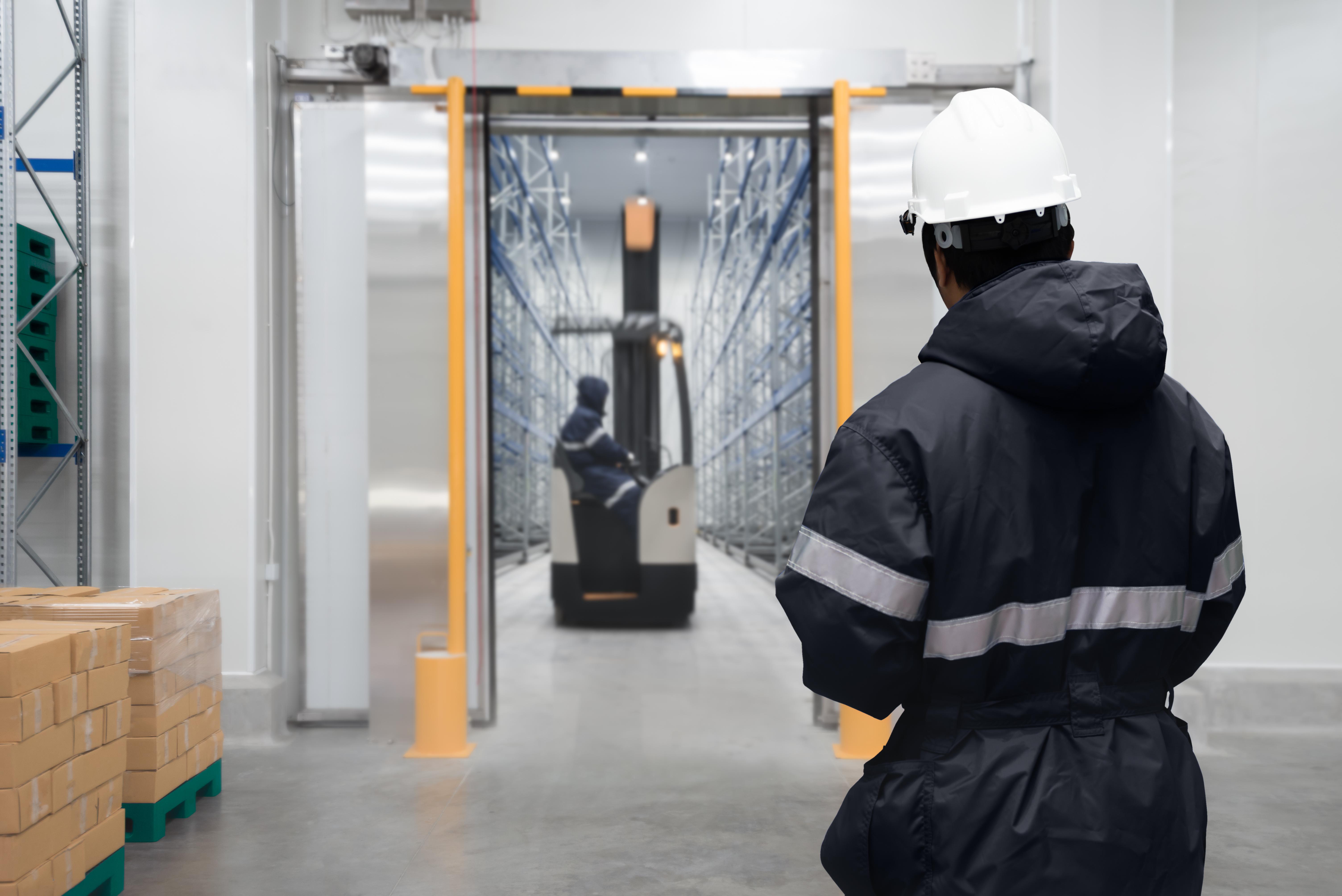 Warehouse worker (deep-freeze)