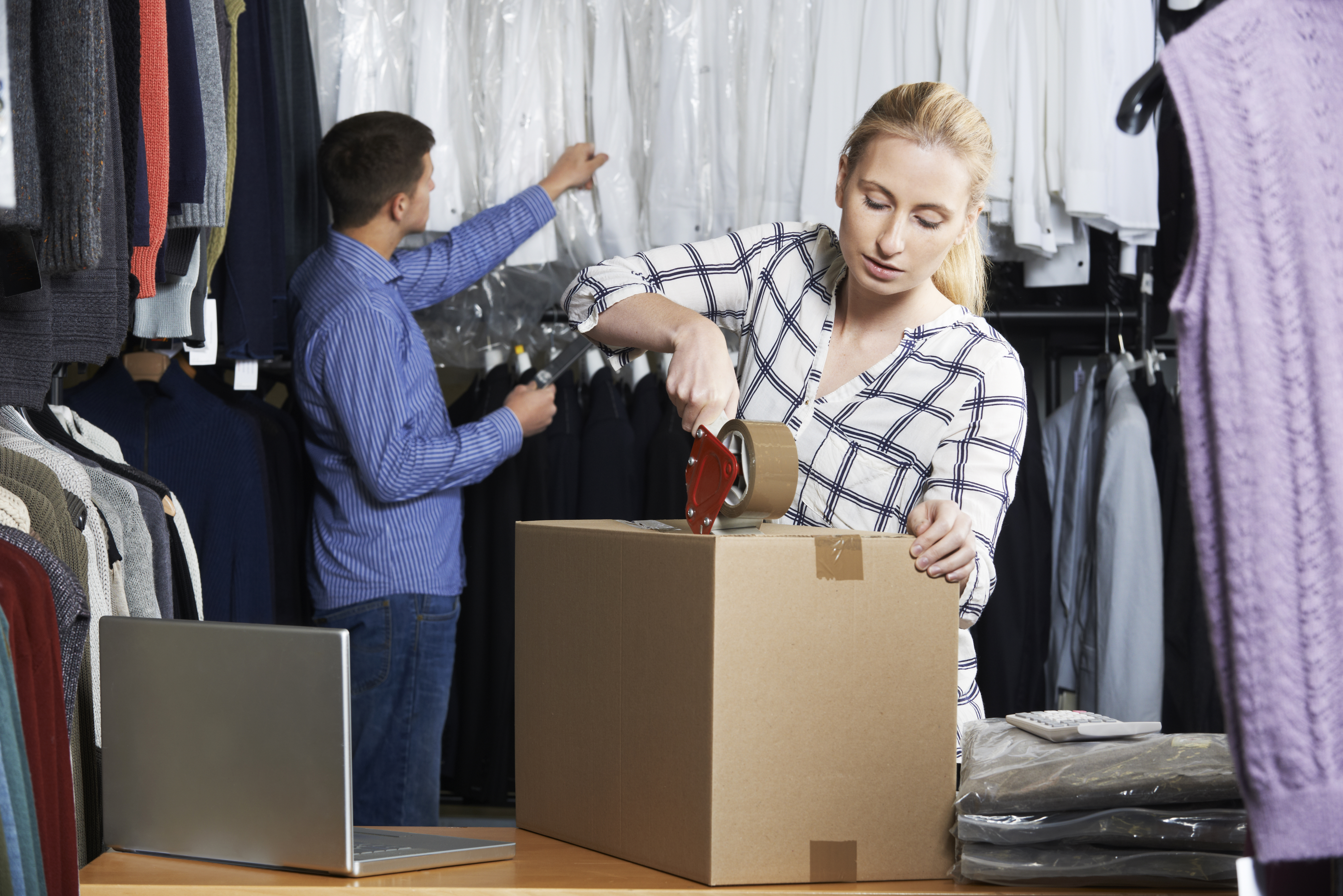 Warehouse worker (clothes) in NL