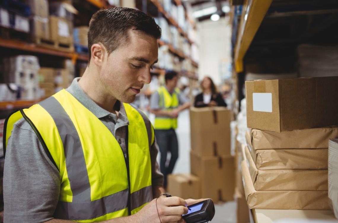 Food warehouse loader