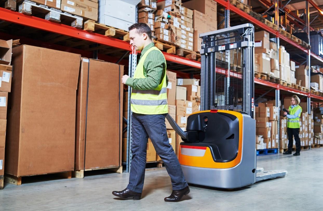 Lift-truck Order picker (in NL)