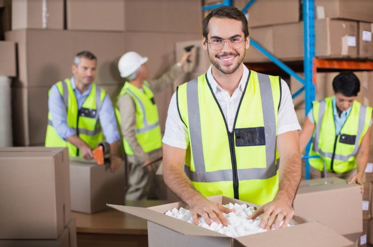 Warehouse worker (clean criminal record)