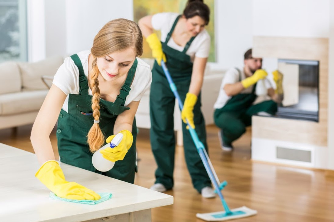 Cleaning Staff (400+EUR weekly)