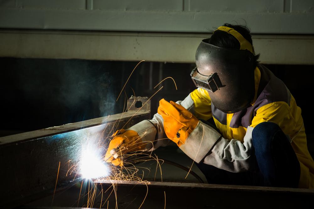 Mig/Mag welder (€520 netto per week)