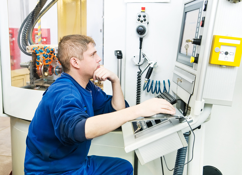 CNC lathe operator (Polish language)