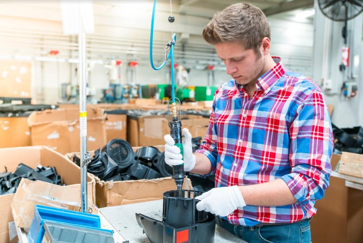 Automotive assembly worker