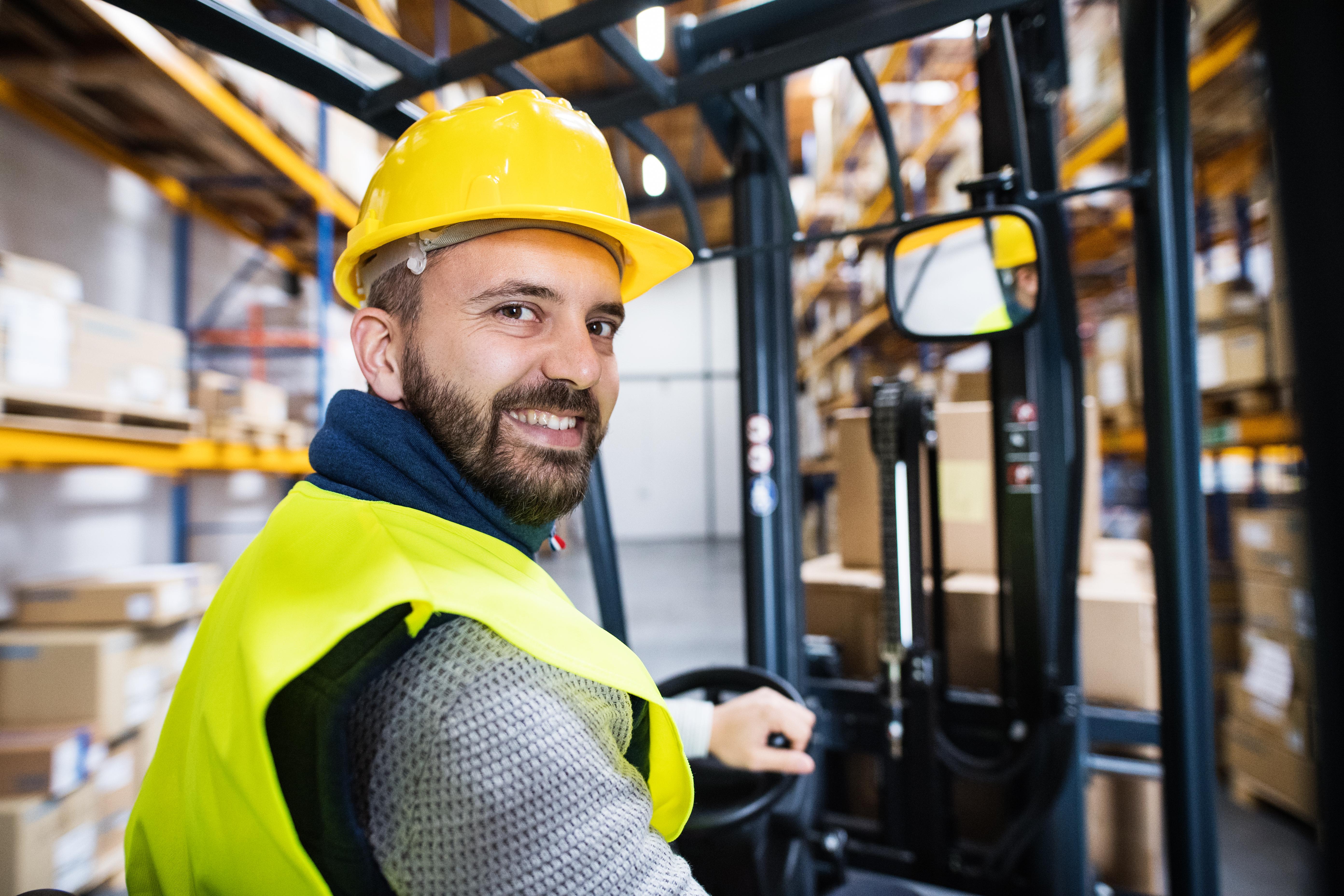 Reach truck/EPT driver